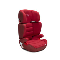 Kinderkraft auto sedište Junior Plus red